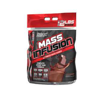 Milk weight gain nutrex mass infusion