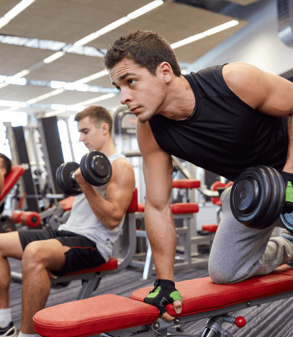 Buddy Up to Ab-solutely Nail Those Abs